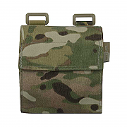 IA Multicam Dump Pouch - folding mesh