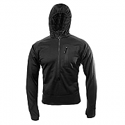 Blackhawk 3/4 Zip Grid Fleece Hoody - Black