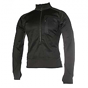 Blackhawk 3/4 Zip Grid Fleece Pullover - Black