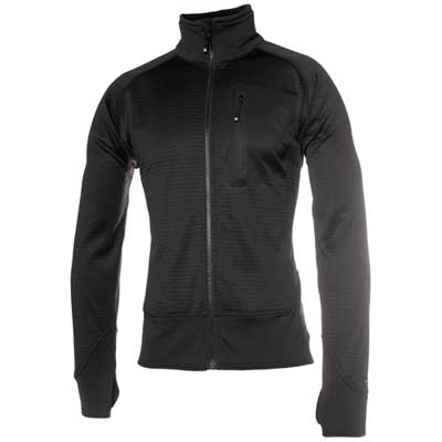 Blackhawk Grid Fleece Jacket - Black