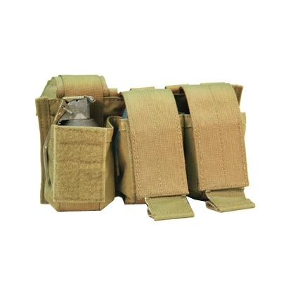 Blackhawk S.T.R.I.K.E Triple Pop-Up Frag Grenade Pouch