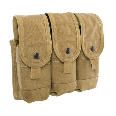 Blackhawk Triple AK47 Magazine Molle Pouch - Holds 6